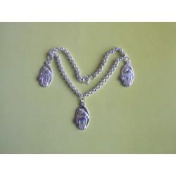 NÁRAMEK - KONÍCI V OVÁLU stříbro