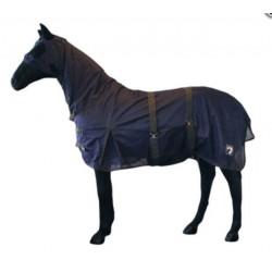 Deka sí´tová pro extra citlivé koně s maskou krkem bři
