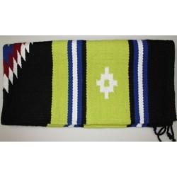 Navajo deka pod sedlo dvojitá tkaná diamanntový