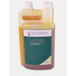 Lněný olej za studena lisovaný čistý přírodní 1litr