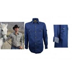 Košile Scippis Cowra 100 % bavlna enzymaticky opráno