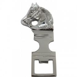 Otvírák na lahve hlava koně kovový