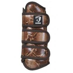 Chrániče sada imitace hadí kůže na suché zipy