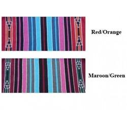 Navajo duha ručně tkané dvojité Amerických vzorů
