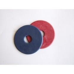 Kroužky k udidlu pár gumové kaučukové