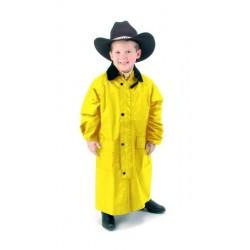 Kabát dětský dlouhý PVC