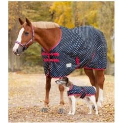 Deka nepromokavá podšitá fleece komfortní Unicorn