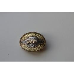 """Westernová přezka hlavy koní ,,gold/silver"""""""