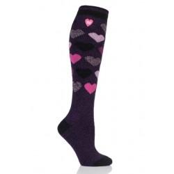 Ponožky thermo různého dekoru i se srdíčky
