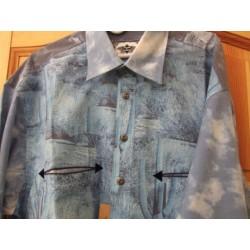 Westernová košile Canyon dl.rukáv pánská