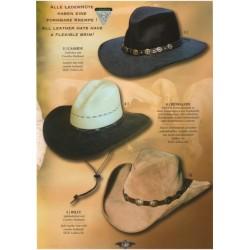 Westernový klobouk Dakota kůže