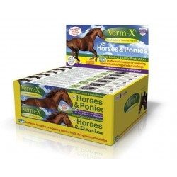 Odčervení Verm-X pro koně i poníky 100% přírodní
