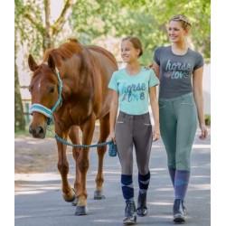 Tričko dámské horselove potisk jemná bavlna 95%