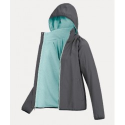 Bunda dámská lehká pružná s podšívkou fleece komfortní